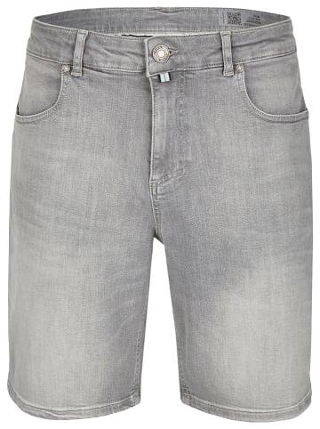 Daniel Hechter Bermudy dżinsowe - Straight fit - w kolorze szarym