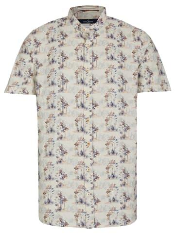 Daniel Hechter Lniana koszula - Modern fit - w kolorze beżowym