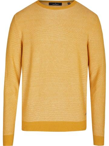 Daniel Hechter Sweter w kolorze żółtym