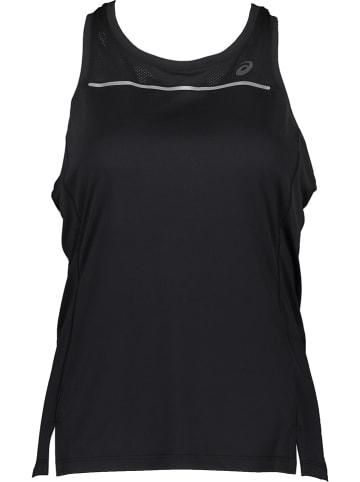 Asics Top funkcyjny w kolorze czarnym
