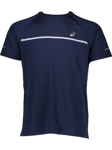 Asics Koszulka sportowa w kolorze granatowym