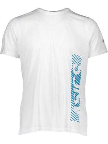 Asics Functioneel shirt wit/petrol