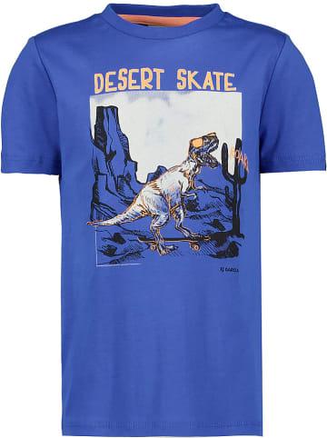 Garcia Koszulka w kolorze niebieskim