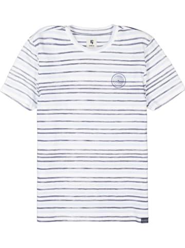 Garcia Koszulka w kolorze biało-niebieskim