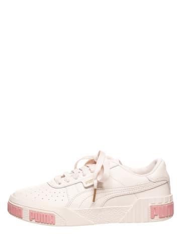 """Puma Skórzane sneakersy """"Cali Bold"""" w kolorze beżowym"""