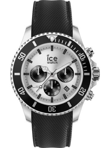 """Ice Watch Chronograf """"Steel"""" w kolorze czarno-srebrnym"""