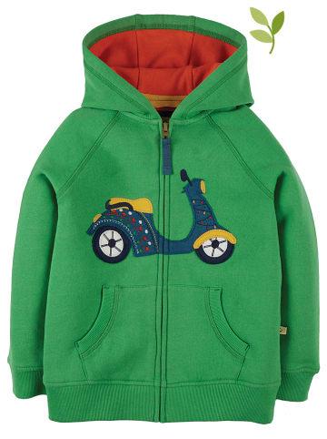 """Frugi Bluza """"Lucas"""" w kolorze zielonym"""