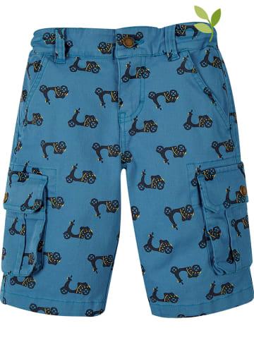 """Frugi Bermudy """"Explorer"""" w kolorze niebieskim"""
