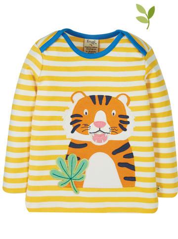 """Frugi Koszulka """"Bobby"""" w kolorze żółtym"""