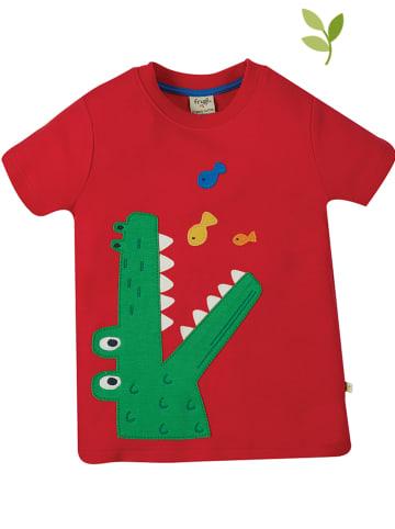 """Frugi Koszulka """"Carsen"""" w kolorze czerwonym"""