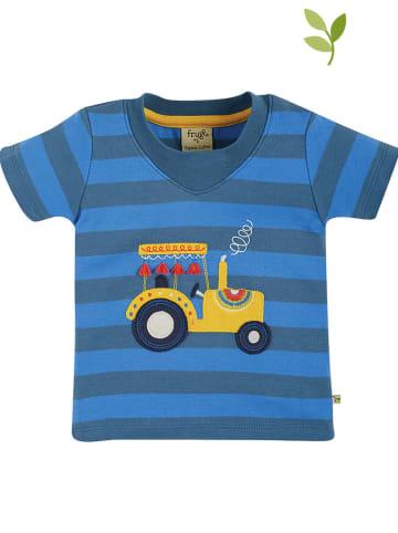"""Frugi Koszulka """"Easy"""" w kolorze niebieskim"""