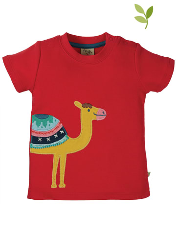 """Frugi Shirt """"Little Creature"""" in Rot"""