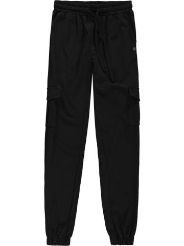 Garcia Spodnie dresowe w kolorze czarnym