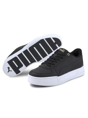 """Puma Skórzane sneakersy """"Skye"""" w kolorze czarnym"""