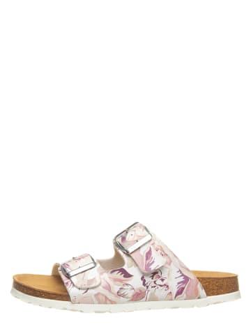 SALAMANDER Slippers wit/meerkleurig