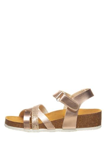 SALAMANDER Sandały w kolorze jasnoróżowym