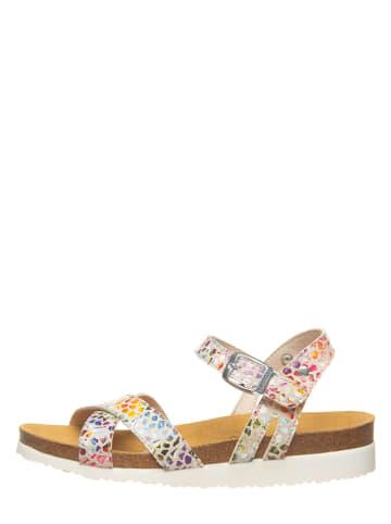 SALAMANDER Sandały w kolorze beżowym ze wzorem