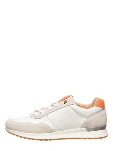 """SALAMANDER Skórzane sneakersy """"Moddy"""" w kolorze jasnoszaro-białym"""