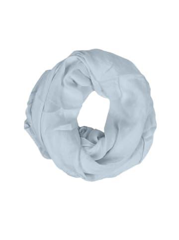 """Zwillingsherz Szal-koło """"Uni"""" w kolorze błękitnym - 74 x 68 cm"""