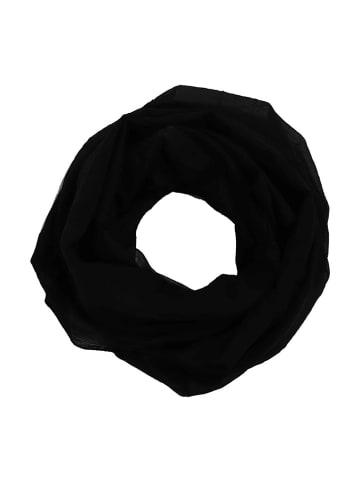 "Zwillingsherz Colsjaal ""Uni"" zwart - (L)74 x (B)68 cm"