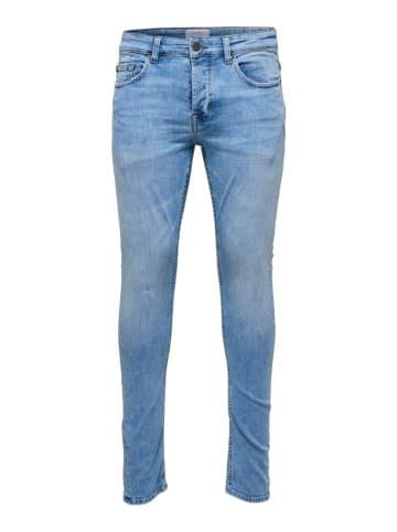 "ONLY & SONS Jeans ""Spun"" - Slim fit - in Hellblau"