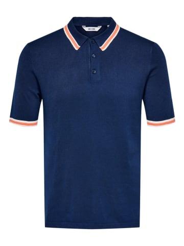 "ONLY & SONS Poloshirt ""Adam"" donkerblauw"