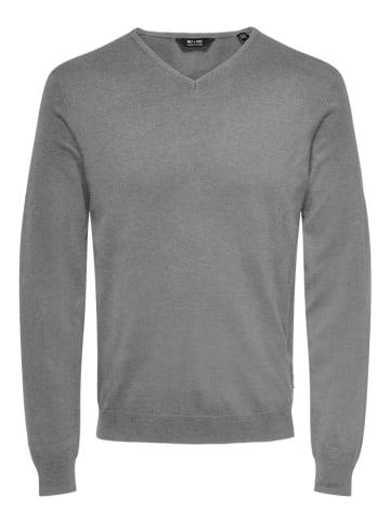 """ONLY & SONS Pullover """"Wyler"""" in Grau"""