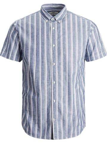 """Jack & Jones Koszula """"Summer"""" w kolorze biało-niebieskim"""