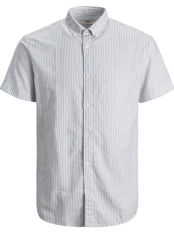 """Jack & Jones Koszula """"Summer"""" w kolorze błękitno-białym"""