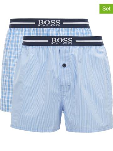 Hugo Boss Bokserki (2 pary) w kolorze błękitnym