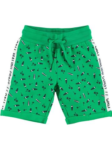 """Tom-Du Szorty dresowe """"Karst"""" w kolorze zielonym"""