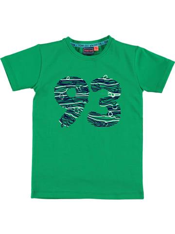 """Tom-Du Koszulka """"Liam"""" w kolorze zielonym"""