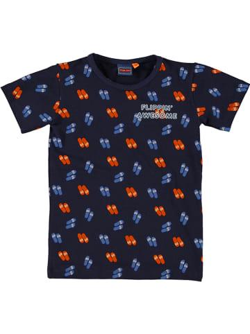 """Tom-Du Koszulka """"Menno"""" w kolorze granatowym"""