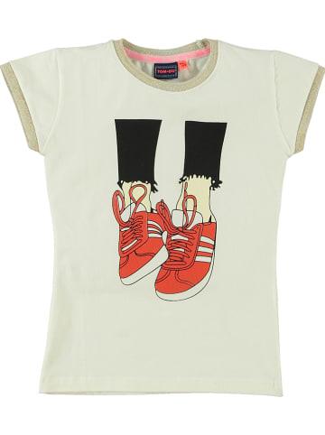 """Tom-Du Koszulka """"Naomi"""" w kolorze kremowym"""