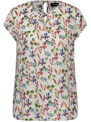 TAIFUN Bluzka w kolorze kremowym ze wzorem