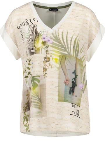 TAIFUN Shirt in Beige/ Creme