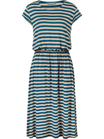 """Finside Kleid """"Mekko"""" in Blau/ Beige"""