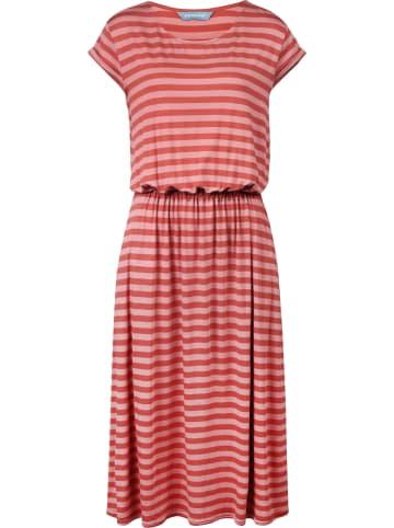 """Finside Sukienka """"Mekko"""" w kolorze różowo-brzoskwiniowym"""
