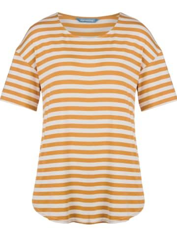 """Finside Koszulka """"Mekkoli"""" w kolorze żółtym"""