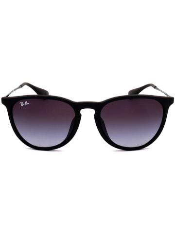 Ray Ban Damen-Sonnenbrille in Schwarz/ Lila