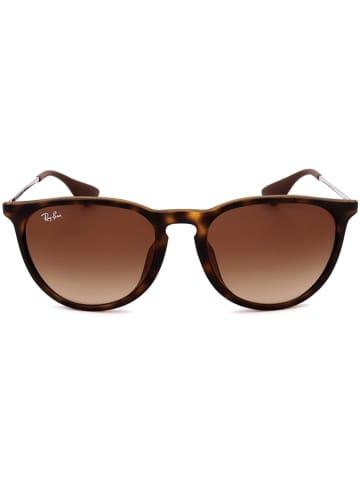 Ray Ban Damen-Sonnenbrille in Braun