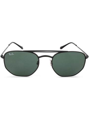 Ray Ban Herenzonnebril zwart/groen