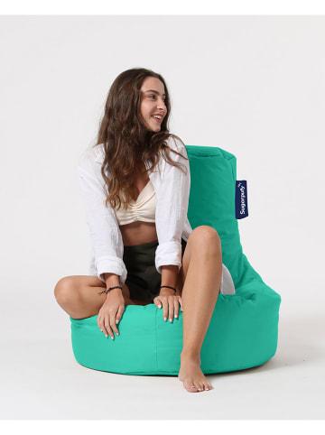 """Comfy Garden Zewnętrzny worek """"Lina"""" w kolorze turkusowym do siedzenia - 70 x 80 x 35 cm"""