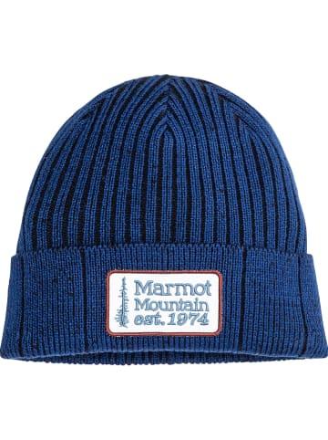 """Marmot Czapka """"Retro Trucker"""" w kolorze niebieskim"""