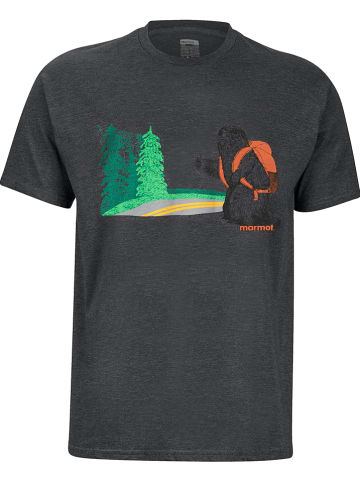 "Marmot Shirt ""Trek"" antraciet"