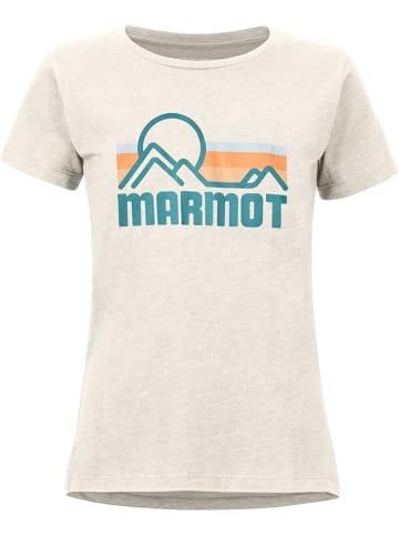 """Marmot Koszulka """"Coastal"""" w kolorze kremowym"""