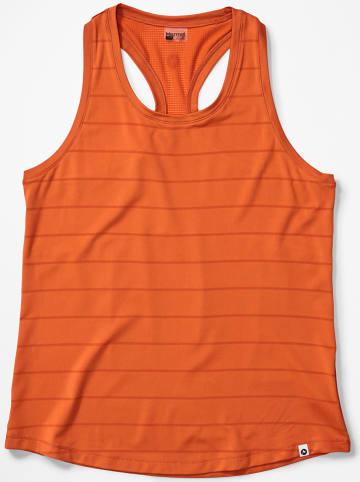 """Marmot Top funkcyjny """"Beta"""" w kolorze pomarańczowym"""