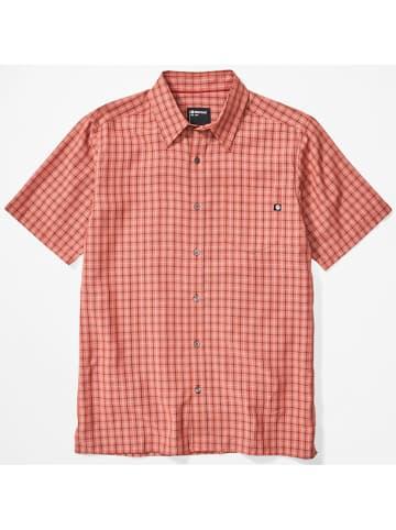 """Marmot Koszula funkcyjna """"Eldridge"""" w kolorze czerwonym"""