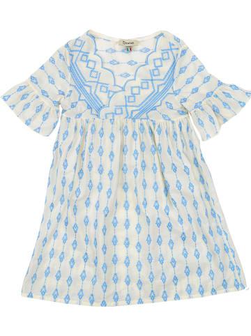 Dixie Sukienka w kolorze błękitnym