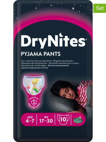 "HUGGIES-DryNites 3er-Set: Pyjama Pants ""DryNites"", 4-7 Jahre, 17-30 kg (30 Stück)"